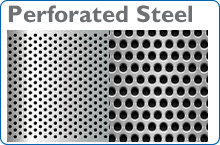 Perforated steel supplier